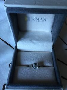 White Gold Engagement Ring Cambridge Kitchener Area image 3