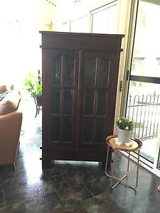 Glass and Timber Cabinet Thagoona Ipswich City Preview