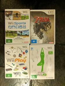 Nintendo Wii with Games & Energiser Charger Norwood Norwood Area Preview
