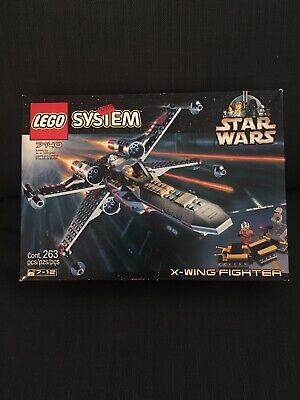 Lego Star Wars X Wing Fighter Set 7140  NEW SEALED 1999 Retired 1st LEGO X-wing