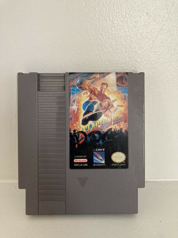 Last Action Hero NES tested rare title