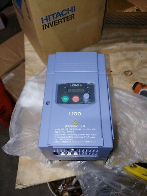 New Hitachi Inverter L100-022hfu 3hp Variable Frequency Drive Vfd
