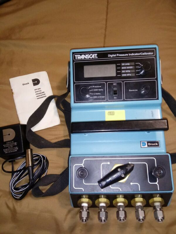 Druck/GE DPI 600 Digital Pressure Indicator/Calibrator (DPI600)