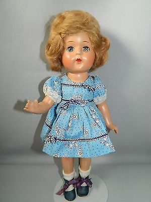 VINTAGE VOGUE UNMRKD COMPOSITION DOLL-TAGGED DRESS-MUST SELL!