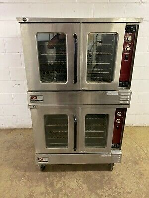 Southbend Electric Double Stack Convection Ovens 208 Three Phase Tested