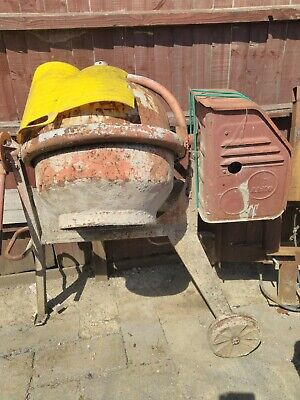AL-CO  Drum Portable Electric Concrete Cement Mixer used Bournemouth