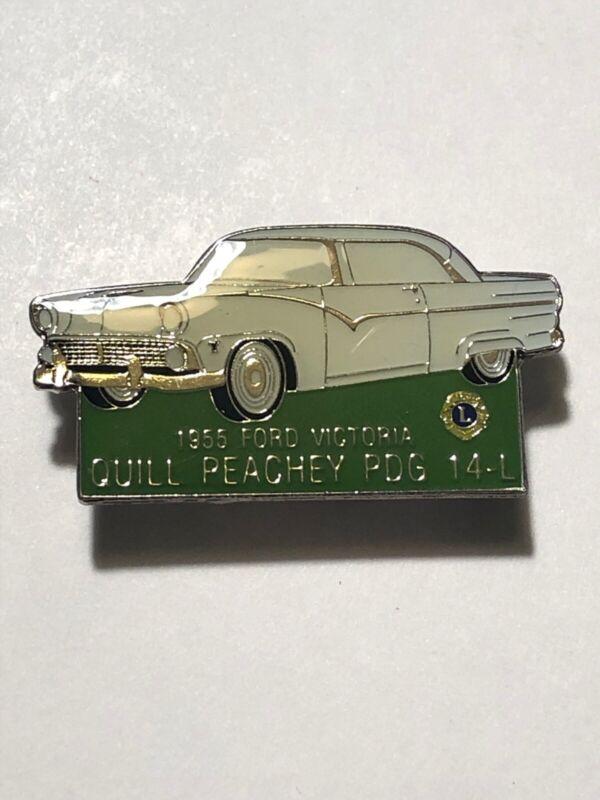 1955 Ford Victoria Car Quill Peachey PDG 14-L Lions Club Pin