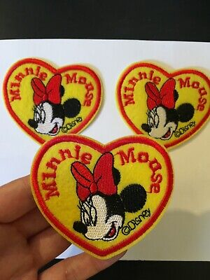 1 piece Disney minnie mouse Cartoon embroidery patch SEW on /IRON on   3