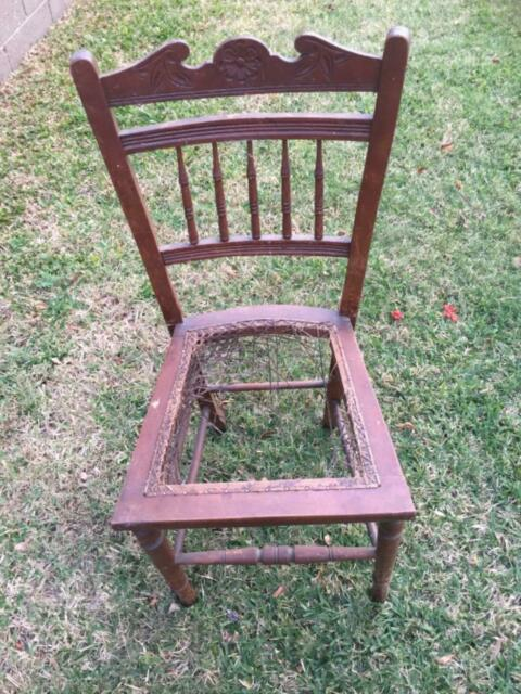 antique wooden chair  dining chairs  gumtree australia