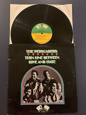 PERSUADERS Thin Line Between Love and Hate LP Vinyl VG/VG+