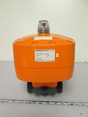 George Fischer 199 021 957 Pneumatic Actuated Diaphragm Valve 1 14 Dn32 Pvc