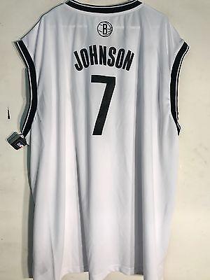 Joe Johnson Jersey - Adidas NBA Jersey BROOKLYN Nets Joe Johnson White sz 3X