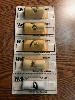 Weller Ds103 Collector Tube Assembly For Ds Series Desoldering Stations 5 Pc Lot