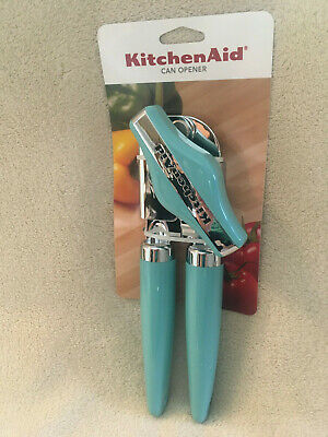 Genuine Kitchen Aid Can Opener Aqua Sky Kitchen Utensil - Brand New