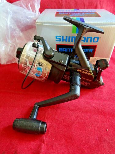 STUNNING UNUSED BOXED EARLY MODEL SHIMANO 4500 BAITRUNNER, RETRO CARP FISHING