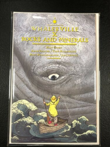 Whalesville Rocks and Minerals #1 First Print Bad Idea