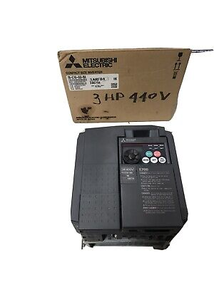Mitsubishi Inverter Drive Fr-e740-060-na. 440 Volts 3 Phase