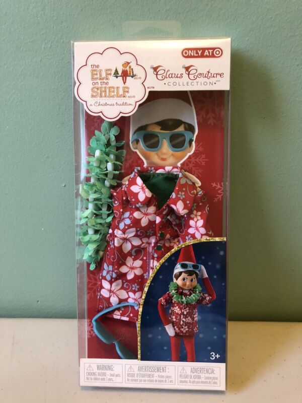 ELF SHELF CLAUS COUTURE COLLECTION® HAWAIIAN SHIRT SUNGLASSES OUTFIT✔️