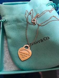 Tiffany & co - original pendent necklace Dandenong Greater Dandenong Preview