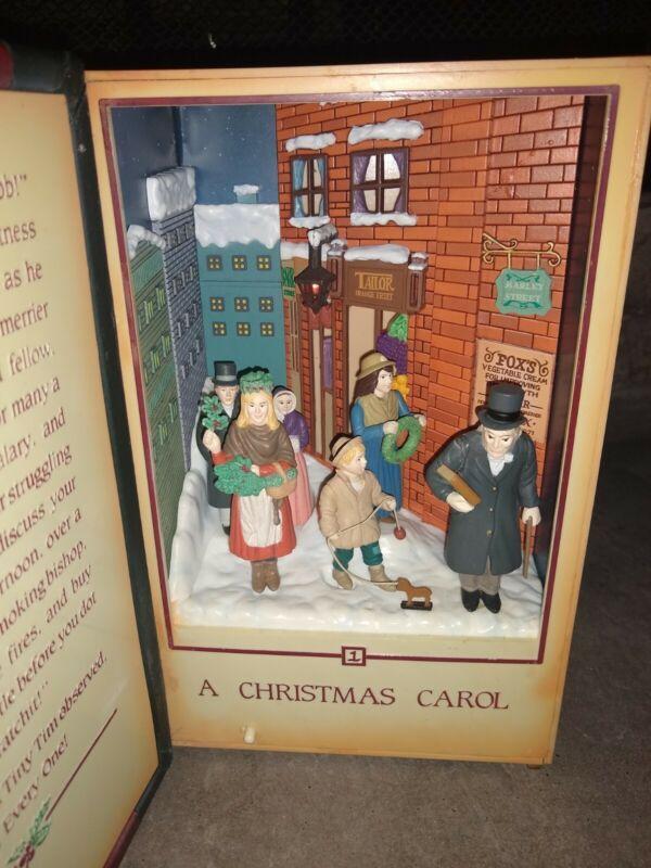 Department 56 A Christmas Carol Charles Dickens Music Box Windup