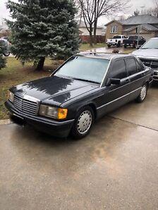 1991 Mercedes Benz 190 E