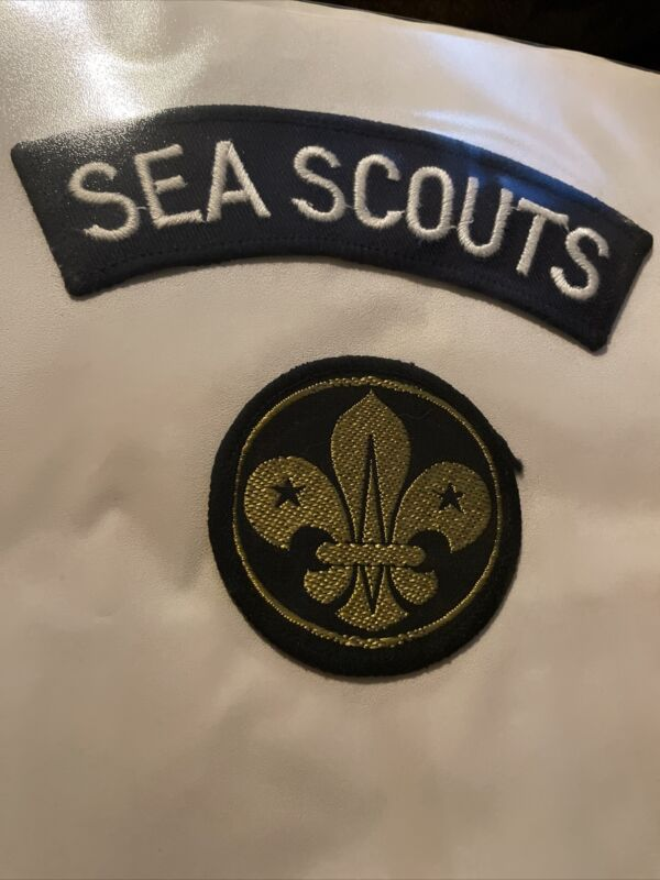 UNITED KINGDOM (UK) / BRITISH SCOUTS -SEA SCOUTS Lot Of 2 Patches