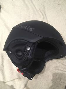 Large Bolle Snowboarding Helmet and Goggles NEVER USED