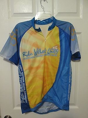 Custom Cycling Gear Bicycle Cycle Jersey Sportswear Benefiting Cerebral Palsy L
