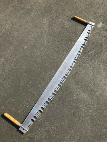 """Vintage Rare HENRY DISSTON & SONS No. 114 - 60"""" - Two Man Crosscut Saw  - Exc."""