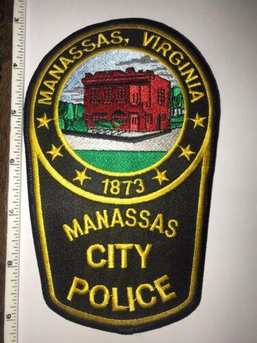 Manassas Virginia Police Shoulder Patch New
