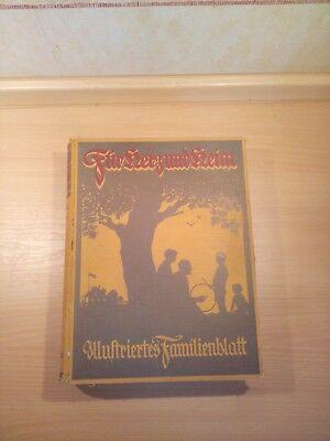 Für Herz und Heim Illustriertes Familienblatt 1.Jahrgang 1938 alte Zeitschriften