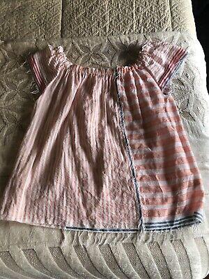 Lemlem Pink Stripe Blouse Sz M