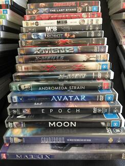DVD Bundle Science Fiction - 17 movies