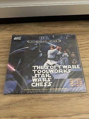 Star Wars Chess Sega Mega CD New Factory Sealed - Inc Spinecard...