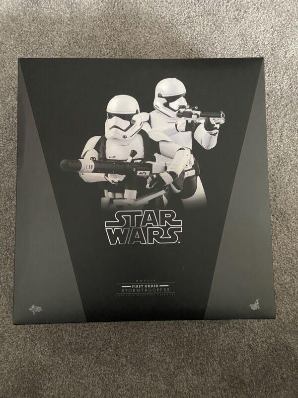 Hot Toys HEAVY GUNNER STORMTROOPER MMS 319 2 Pack Star Wars Ep 7 First Order