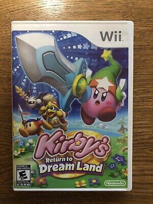 Kirby's Return to Dream Land Wii