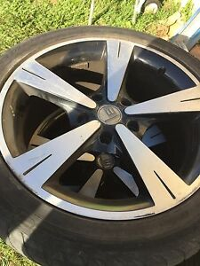 "Holden commodore vt,vy,vz rims & tyres 17""s Chambers Flat Logan Area Preview"