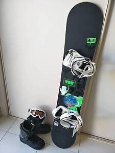 Snowboard setup Maffra Wellington Area Preview