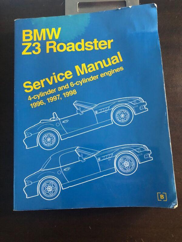 Bmw Z3 Roadster Service Manual 4-Cylinder 6-Cylinder 1996 1997 1998 I Bentley