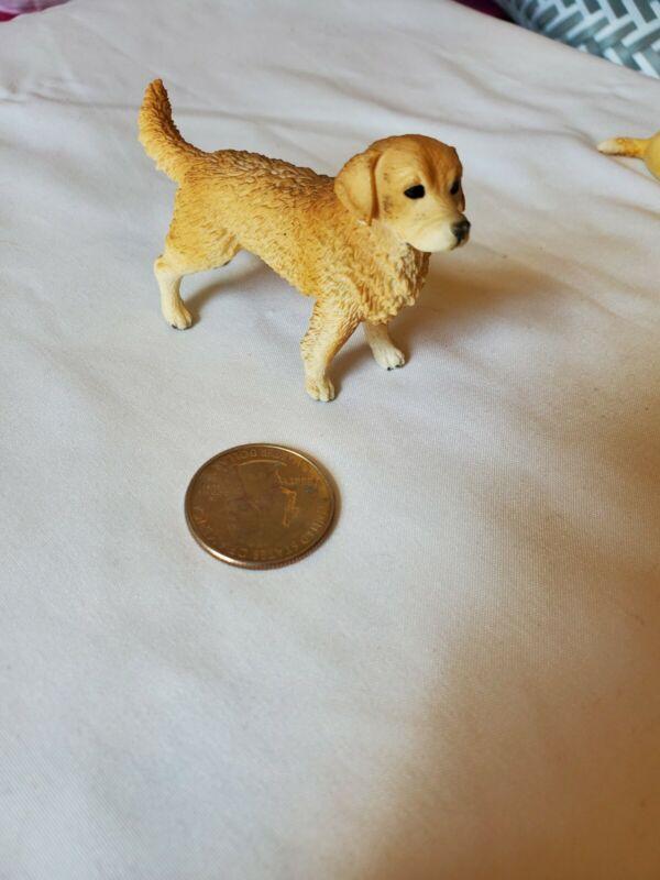 SCHLEICH Male Golden Retriever Dog Figure Retired 16394