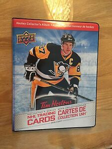Cartes de hockey Tim Horton 2016/2017 set de base complet