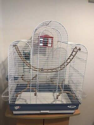 IMAC BIRD CAGE ITALIAN MADE c/w Accessories, Sanded Sheets And A Box Of Trill!