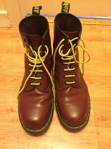 Doc martins- size 11 men's- Cherry red