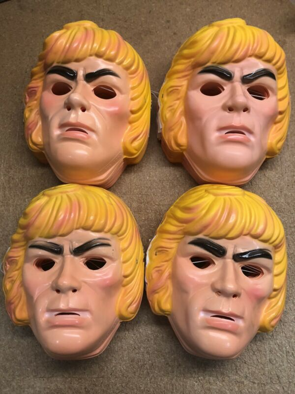 100 Pack of He-Man Ben Cooper Vintage Halloween Masks New Old Stock 1983