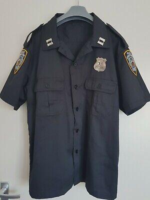 NEU, US POLICE UNIFORM - SHIRT/ HEMD GR: - Cop Kostüme Shirt