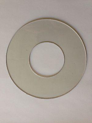 Mitsubishi Fa Wire Edm Upper Head Clear Vinyl Splash Ring. New Made In Usa