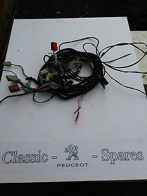 peugeot 205 1.6 / 1.9 gti interior wiring loom fuse box to fuel pump rear lights