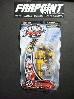 MOC NEW Mighty Morphin Power Rangers RPM MMPR Yellow BEAR RANGER Full Throttle - Power Rangers Rpm Toys