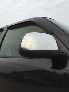 Chrome mirrors with defrost