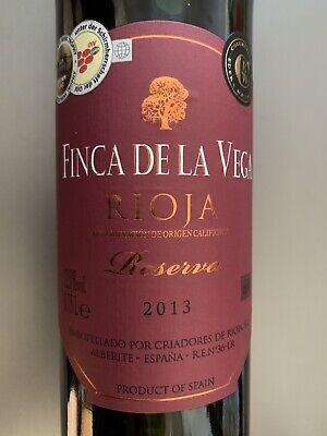 Rotwein   Finca de la Vega   Reserva   2013   Rioja